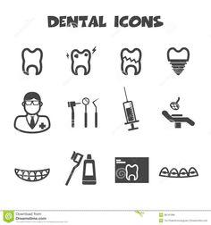 ผลการค้นหารูปภาพสำหรับ dental symbols