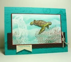 Perry Papercrafts: Sea Tide Birthday