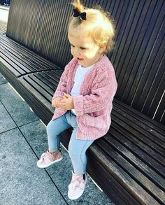 Cute Baby Girl Outfits, Toddler Girl Outfits, Cute Baby Clothes, Kids Outfits, Baby Girl Fashion, Toddler Fashion, Kids Fashion, Cute Little Baby, Cute Babies