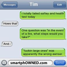 Great Answer - Other - Sep 15, 2012 - Autocorrect Fails and Funny Text Messages - SmartphOWNED