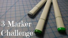 3 MARKER CHALLENGE! Follow my experiences as a young artist!! All the ups and downs and creations through it all are shared on my blog!