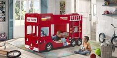 Παιδική κουκέτα πυροσβεστικό όχημα θα ζωντανεύει την φαντασία του μικρού σας ήρωα | Kalamata Times Fire Engine