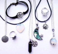 Grunge jewelry