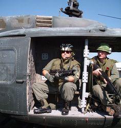 Vietnam Door Gunner ...My seat, forward of the gunner.wg.