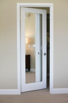 DIY glue mirrors on to standard paneled doors So Easy Master