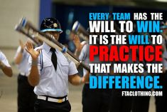 The will to practice.
