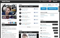 Isaiah Grass Ranked #1 on Reverbnation