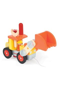 Janod DIY Bulldozer available at #Nordstrom