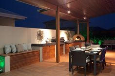 Create an amazing alfresco area - Hotondo Homes Outdoor Rooms, Outdoor Dining, Outdoor Kitchens, Hotondo Homes, Alfresco Designs, Alfresco Area, Outdoor Kitchen Design, Layout Design, Design Ideas