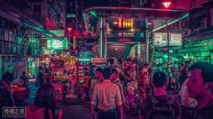 Qatar based photographer Abdelmounim Zaki explores the streets of Hong Kong with his lens, taking beautiful oversaturated photographs of the city.