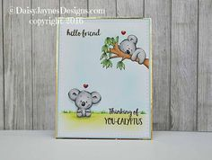 You're Kaolafied 4x6 Clear Stamp Set Koala gerda steiner designs gsd-stamps.com kaola