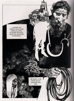 Sergio Toppi's Sharaz-De: Tales from the Arabian Nights. *That white silhouette is awesome