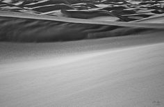 Great Sand Dunes National Park black and white abstract landscape photography - Aaron Spong -  http://aaron-spong.artistwebsites.com