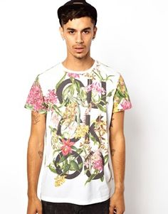 Cuckoos Nest T-Shirt With Botanical Print