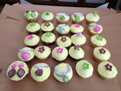Jewelry cupcakes :) (my bf birthday)