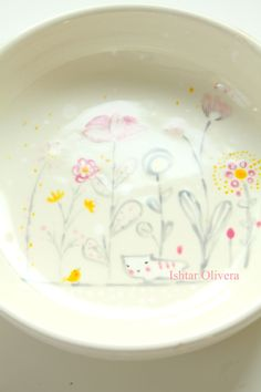 Ishtar Olivera plate :: part of ceramic color swatch series