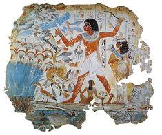 A los egipcios les gustaba comer bien porque temían las hambrunas. La mayoría de ellos, es decir los campesinos, esclavos y artesanos, no tenían especiales cuidados y sí, verdadero afán de comer todos los días. Los mejor posicionados en la escala social,  realizaban constantes ofrendas a sus dioses en espléndidos banquetes funerarios ricos en grasas saturadas, que acababan por deglutir ellos mismos.