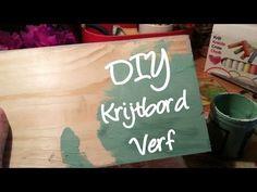 ▶ Hoe maak je zelf krijtbord verf? Zelf Annie sloan look a like maken! DIY - YouTube