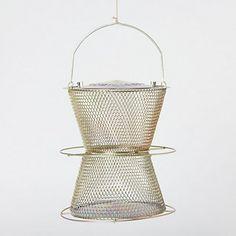 Bronze Hourglass Birdfeeder