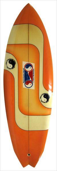 T&C HAWAII 70`S Larry Bertlemann Fish Shaped By Larry Bertlemann|中古サーフボード販売・買取りのユーズドサーフ