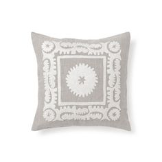 Embroidered Linen Pillow - Decorative Pillows - Bedroom | Zara Home United States of America