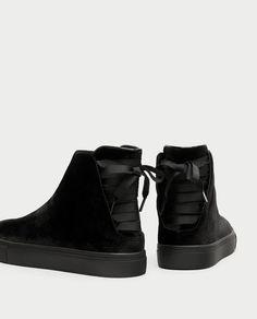 Zapatillas Blancas de Encaje y Ce?os Fruncidos - 40 Vr1lWj