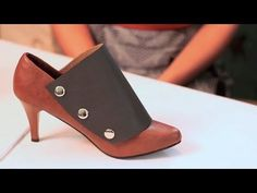 Best Shoe Makeover Ever! ThreadBanger How-to    Super fun idea :) Must get a leather punch now.