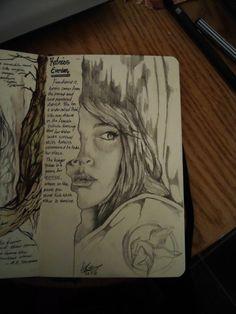 Peeta's sketches
