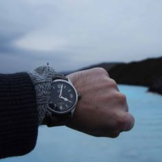 Keeping time with the beautiful watch while adventuring across cities, cliffs and the Blue Lagoon