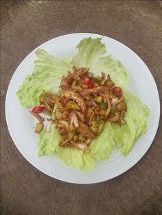 Hafif Mutfak: Uzakdoğu Usulü Tavuk Salatası