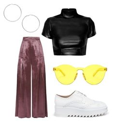 """Untitled #272"" by ninaellie on Polyvore featuring Temperley London, Pedder Red, Forever 21 and Miss Selfridge"