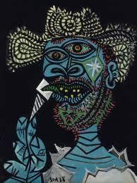 Picasso. Cubism. Kunst Picasso, Art Picasso, Picasso Paintings, Portraits Cubistes, Picasso Self Portrait, Picasso Portraits, Cubist Movement, Georges Braque, Art Moderne