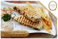 Are you having an undying urge of tasting this #Italian_grill? Visit our Salt Lake outlet today and relish our #GrilledVegetable with #Crème #Cheese #Panini.