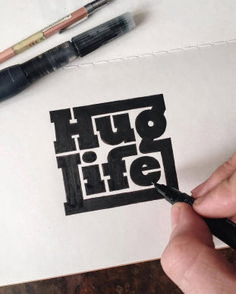 Hand lettering inspiration on a daily basis! Calligraphy and hand lettering for beginners we provide inspirational and educational content on the art of typography! Visit our website to find out more :) Typography Quotes, Typography Poster, Typography Sketch, Fonts Quotes, Top Quotes, Logo Evolution, Lettering Design, Hand Lettering, Branding Design