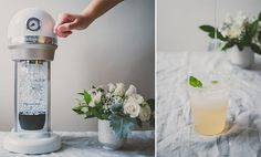 Why go out for brunch when you can host your own elegant soirée? Betty of le jus d'orange has design ideas and a Grapefruit Ginger Soda recipe on the blog to help get you started.
