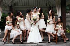 AWWW.  Wedding of Velda and Fred is photographed by Nicole Then Photography. #sgweddings #eoweddings