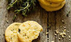 Αλμυρά μπισκότα παρμεζάνας