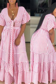 From dream wedding dresses and party dresses to perfect prom dresses and evening dresses, you're sure to find a fabulous style to match every occasion. Curvy Outfits, Pink Outfits, African Wear Dresses, Party Dresses, Wedding Dresses, Evening Dresses, Summer Dresses, Just Style, Black Girl Fashion