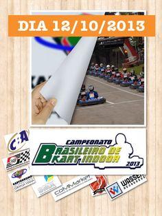 PREPARE-SE! Dia 12 de outubro de 2013 tem a 9ª edição do Campeonato Brasileiro de Kart Indoor, no Kartodromo da Granja Viana   Saiba mais:  FanPage - https://www.facebook.com/events/504149309663381 Site Oficial - www.brasileirodeindoor.com.br Amika - www.amika.com.br