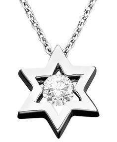 EFFY Diamond Diamond Star Of David Pendant.