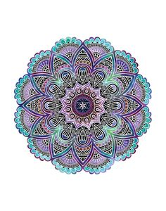 This mandala print will bring a touch of joy and relaxation to whatever space you place it in. Available in square (6x6, 8x8, 10x10, 12x12) or rectangular (5x7, 8x10, 11x14, 13x19) sizes. Print is on More