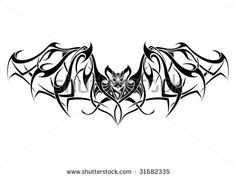 bat tattoo ideas | Bat Tribal Tattoo Design Stock Vector 31682335 : Shutterstock 8531 Santa Monica Blvd West Hollywood, CA 90069 - Call or stop by anytime. UPDATE: Now ANYONE can call our Drug and Drama Helpline Free at 310-855-9168.