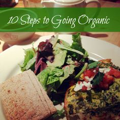 10 Steps to going Organic #Fitfluential #Organic