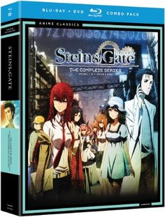 Steins;Gate DVD/Blu-ray Complete Series (Hyb) - Anime Classics 33 #RightStuf2014