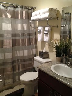 Making The Most Of My Tiny Apartment Bathroom Hotel Towel Rack From 15