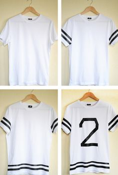 Margot - You make fashion - Fashion blog DIY: DIY # 33: Baseball T-shirt