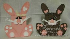 Stamp & Scrap with Frenchie: Spring and Easter Nugget Holder