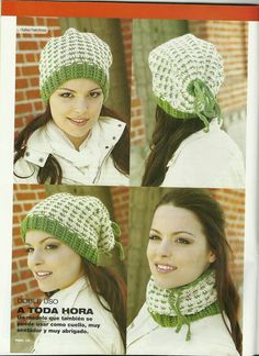 """ MOSSITA BELLA PATRONES Y GRÁFICOS CROCHET "": Cuello o gorro a crochet, Neck and hat crochet"