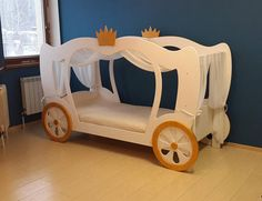 Princess Cinderella Bed PLANS and real size TemplatesPDF