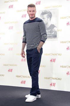 The david beckham look book Adidas Fashion, Sport Fashion, Fitness Fashion, Mens Fashion, Estilo David Beckham, David Beckham Style, Sport Man, Under Armour Women, Gq